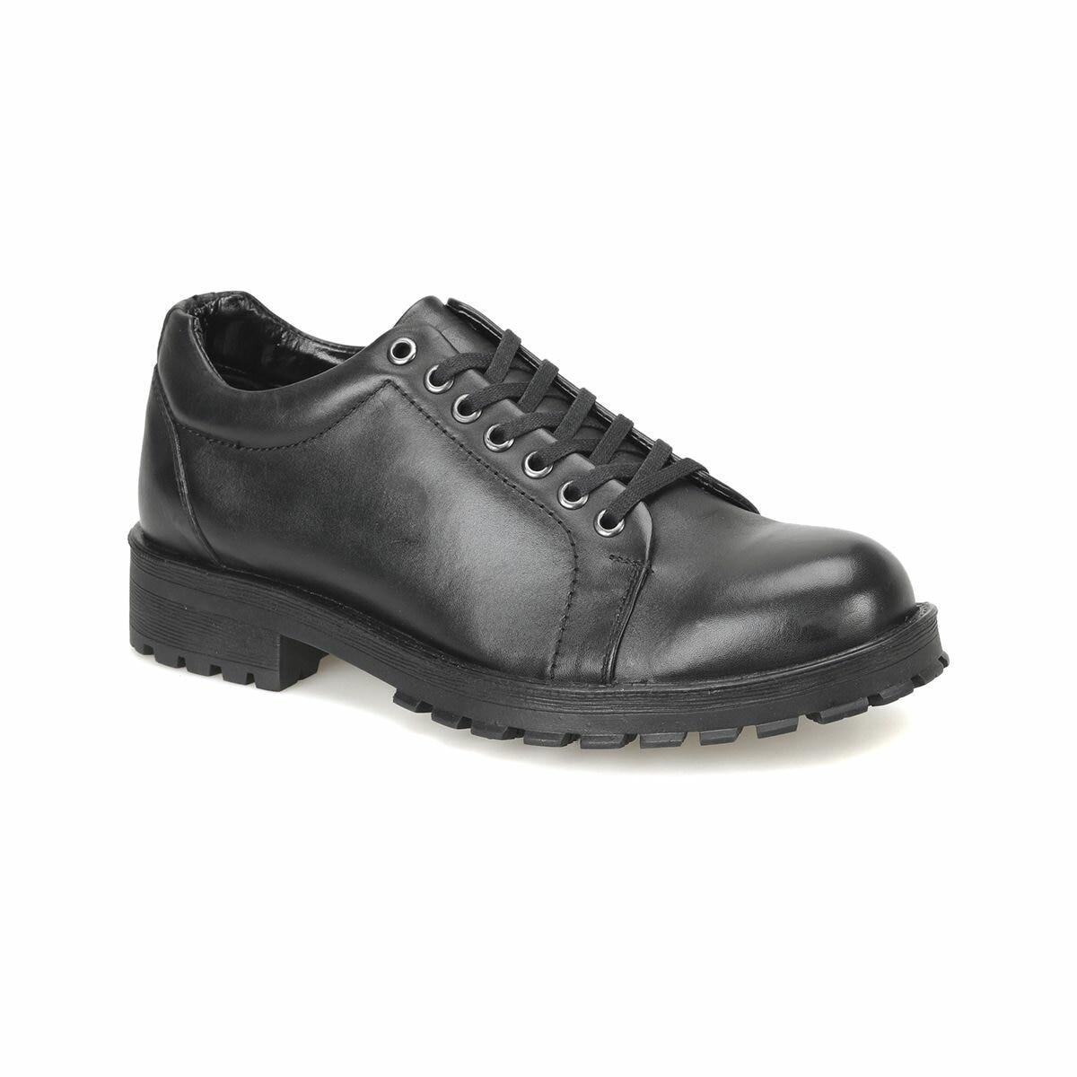 FLO MKM-50944-3 Black Male Shoes Oxide
