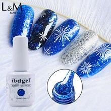 24 шт./лот ibdgel Алмазный блестящий клей серии UV LED Гель лак для ногтей отмачиваемый Звездный Esmalte гель для ногтей DIY Beauty Nails