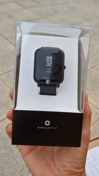 In Stock Global Version Amazfit Bip Lite Smart Watch 45 Day Battery Life 3ATM Water resistance Smartwatch For Xiaomi New 2019-in Smart Watches from Consumer Electronics on AliExpress