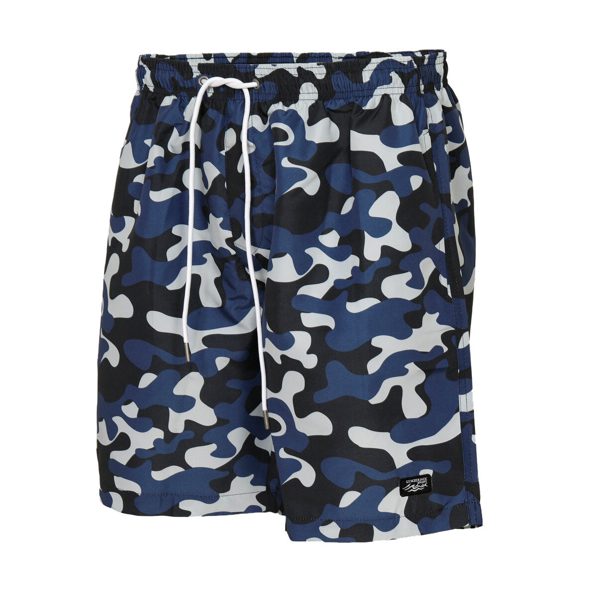 FLO M-1660 CATE SEA SORTU Camouflage Color Male Sea Shorts LUMBERJACK