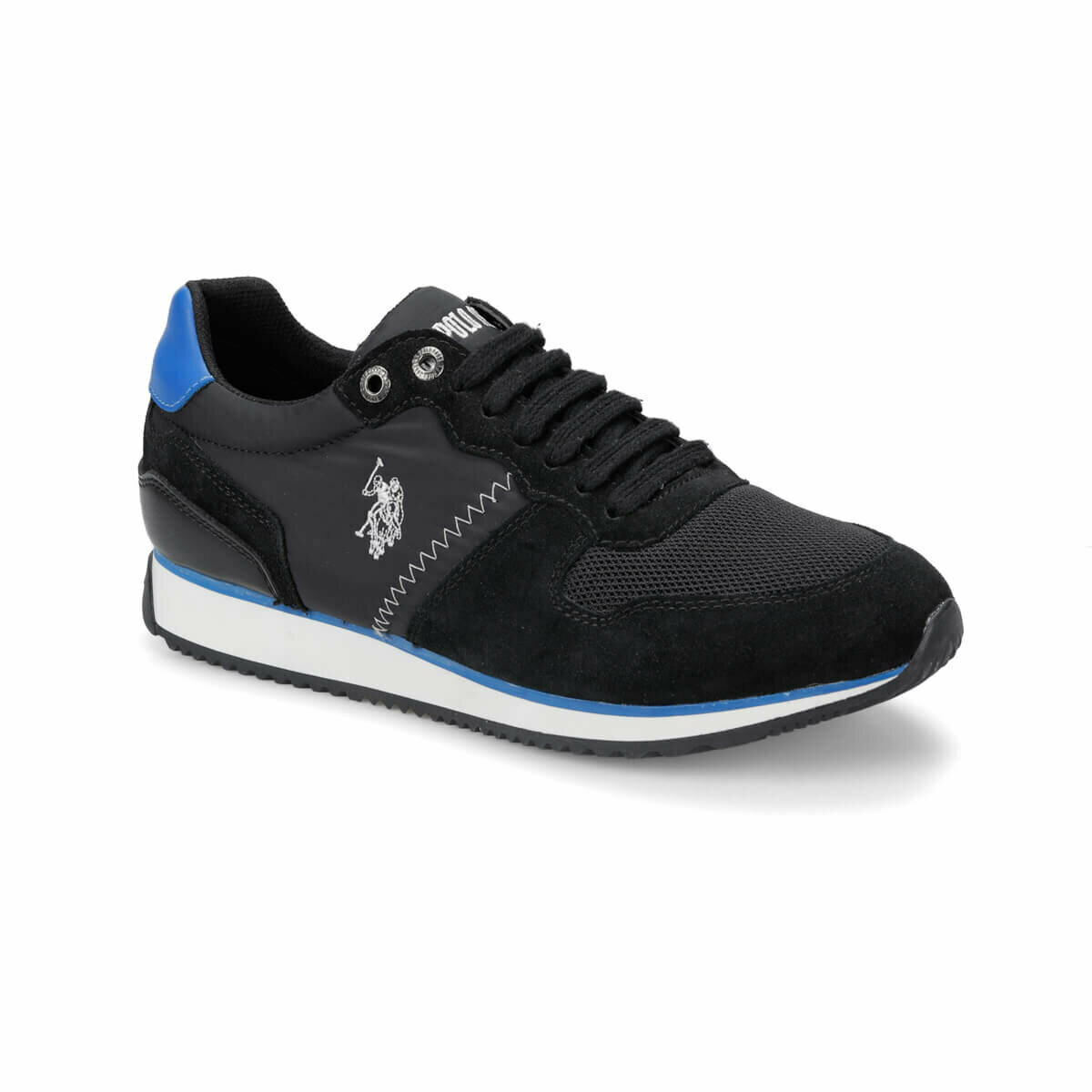 FLO MAC Black Men 'S Sneaker Shoes U.S. POLO ASSN.