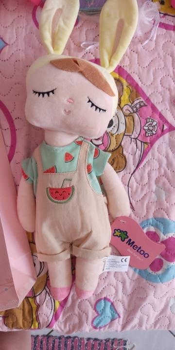 Boxed Metoo Doll kawaii Plush Soft Stuffed Plush Animals Baby Kids Toys for Children Girls Boys Birthday Christmas Angela Rabbit toys for girls kids toys for girlstoys for - AliExpress