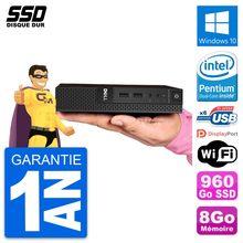 Ultra Mini PC Dell 3020 Micro USFF G3250T RAM 8Go SSD 960Go Windows 10 Wifi