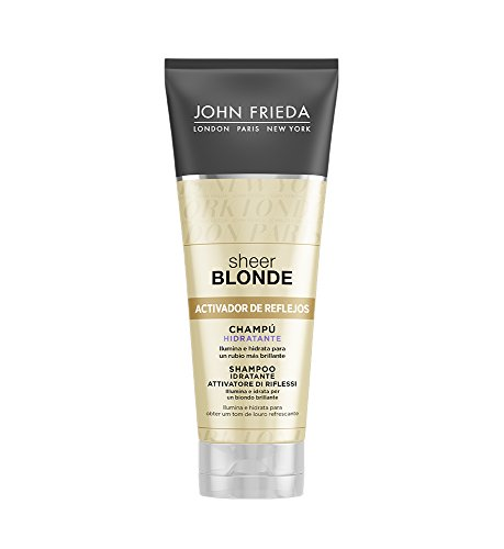 Tinting Shampoo For Blonde Hair Sheer John Frieda (250 Ml)