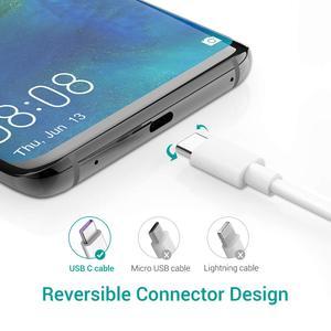 Usb зарядный кабель type C 1M 2.4A совместим с зарядными устройствами для смартфонов Xiaomi Huawei Samsung One plus