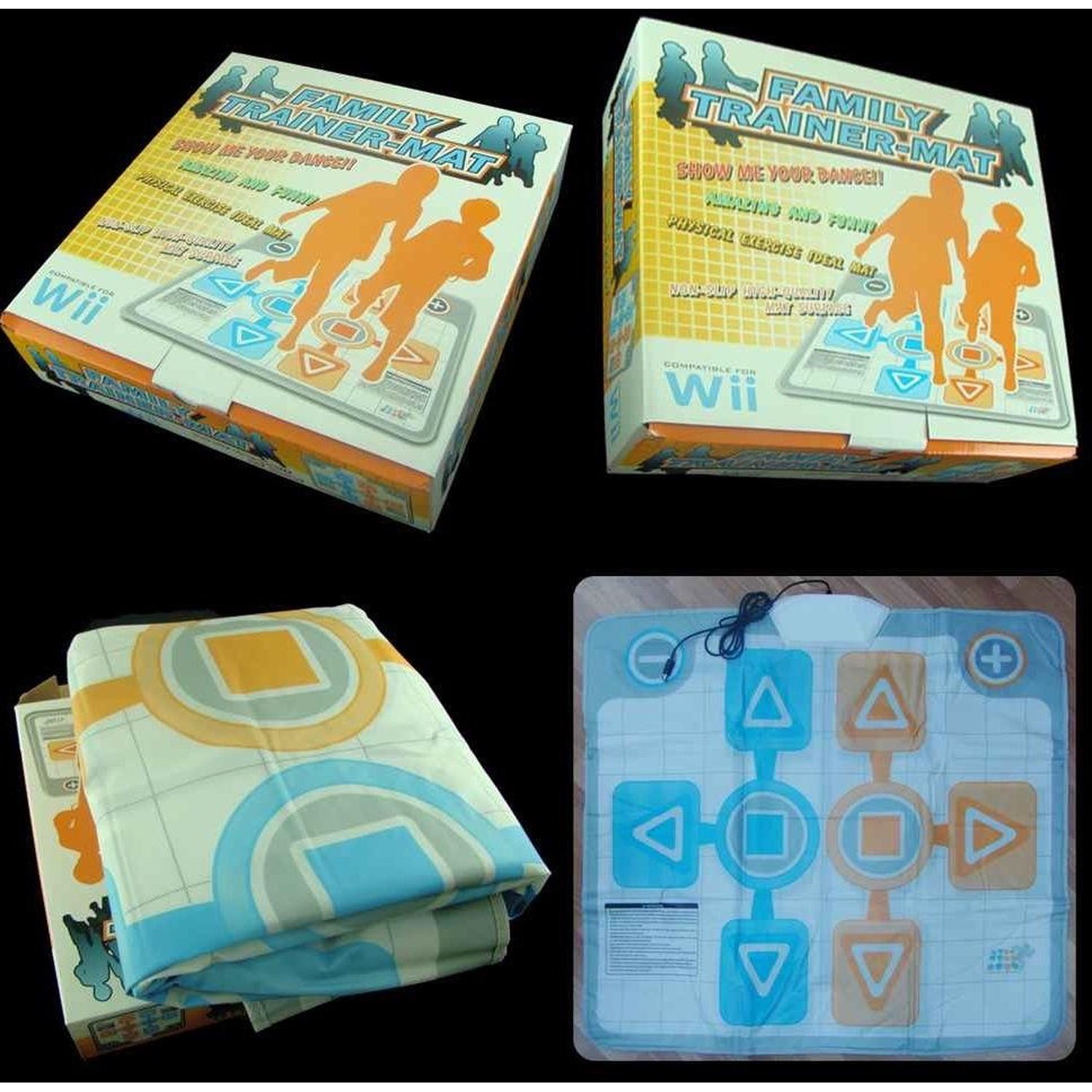 Track Family Trainer For Nintendo Wii