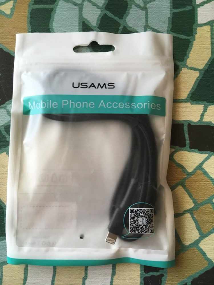 USAMS USB Cable for iPhone X XS MAX XR 8 7 6 6S Plus 5 5S Fast Charger LED Lighting Sync Data USB Quick Charging Cable for Apple-in Mobile Phone Cables from Cellphones & Telecommunications on AliExpress
