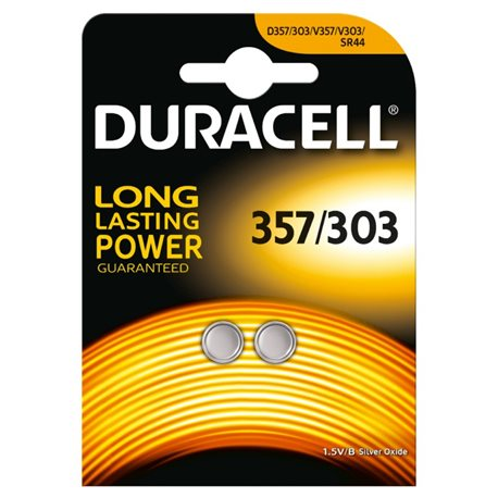 BUTTON BATTERY 357 SPECIAL DURACELL