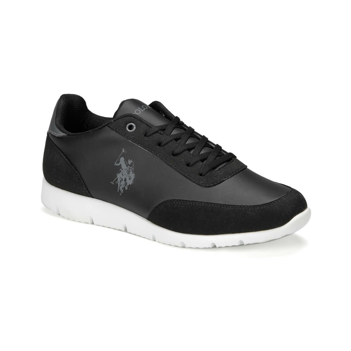 FLO BONE WT 9PR Black Men 'S Sneaker Shoes U.S. POLO ASSN.