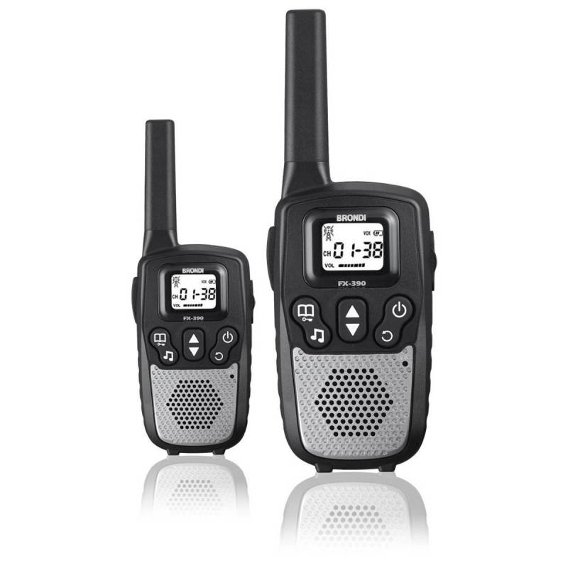 Brondi Walkie Talkie FX 390 Black/silver