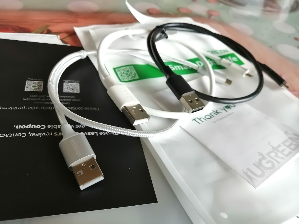 Ugreen Micro USB Cable 3A Fast Charging USB Data Cable Mobile Phone Charging Cable for Samsung HTC LG Android Tablet USB Wire|cable mobil|cable formicro usb cable 2a - AliExpress