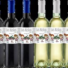 Bodegas canaveras Las Niñas Ecológicas-lot de 6 bouteilles vin bio du pays de castille-Pack 6x750 ml
