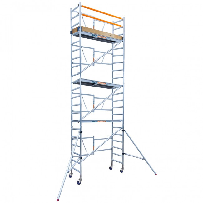 SCAFFOLDING Folding In Aluminum IBER SCAFFOLDING S High Altitude Working 7,50 M