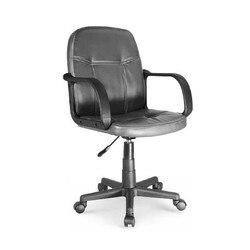 Krzesło biurowe obrotowe podnoszona skóra syntetyczna