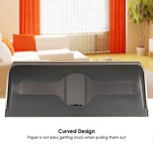 Image 4 - Tissue Box Holder Bathroom Tissue Dispenser Kitchen Napkin Holder For Kitchen Toilet Paper Towel Dispenser Wall Mounted