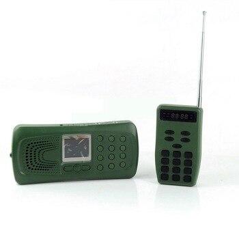 Hunting MP3 Player Bird Decoy Bird Caller Remote Control 20W Speaker+Flashlight MP3 PLAY Game Caller 100g2280