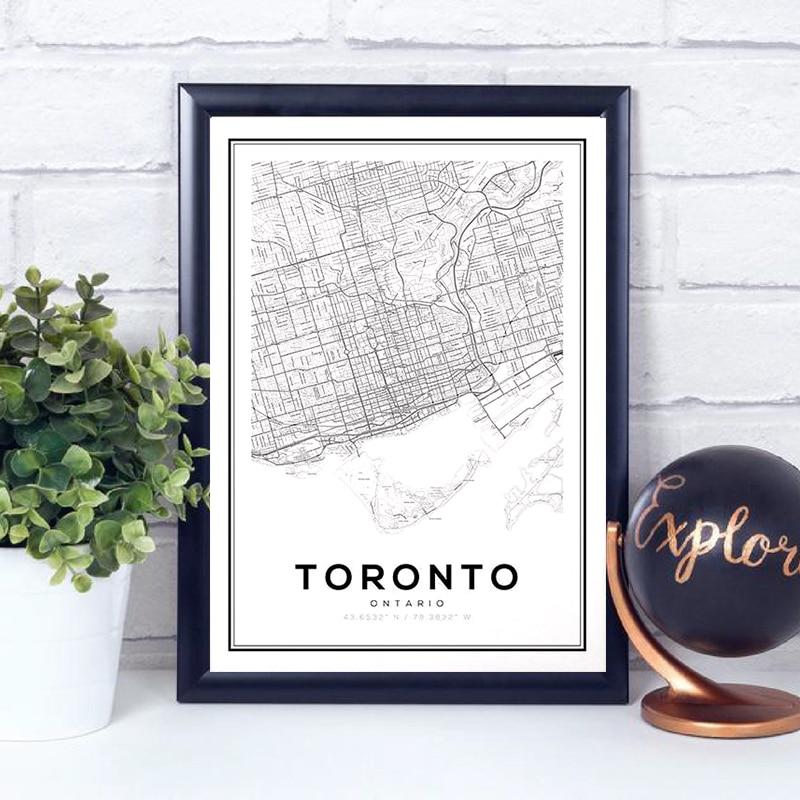 Toronto Canvas Art Prints