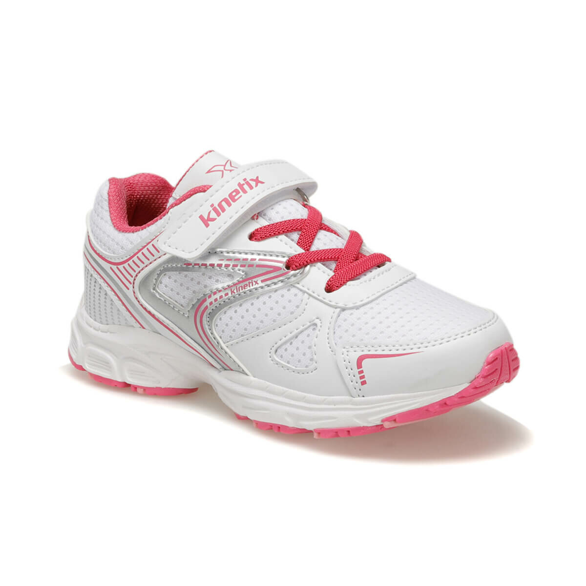 FLO REMOV White Female Child Running Shoes KINETIX