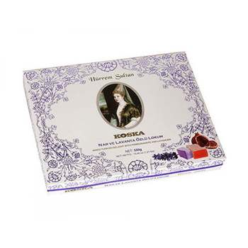 Turkish Delight-Hurrem Sultan (Pomegranate and Lavender Mixed) 550 g недорого