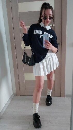 Women Skirt Fashion High Waist Pleated Skirt Sweet Cute Girls Dance Mini Skirt Cosplay Preppy Uniform School Short Skirts XS 3XL|Skirts|   - AliExpress