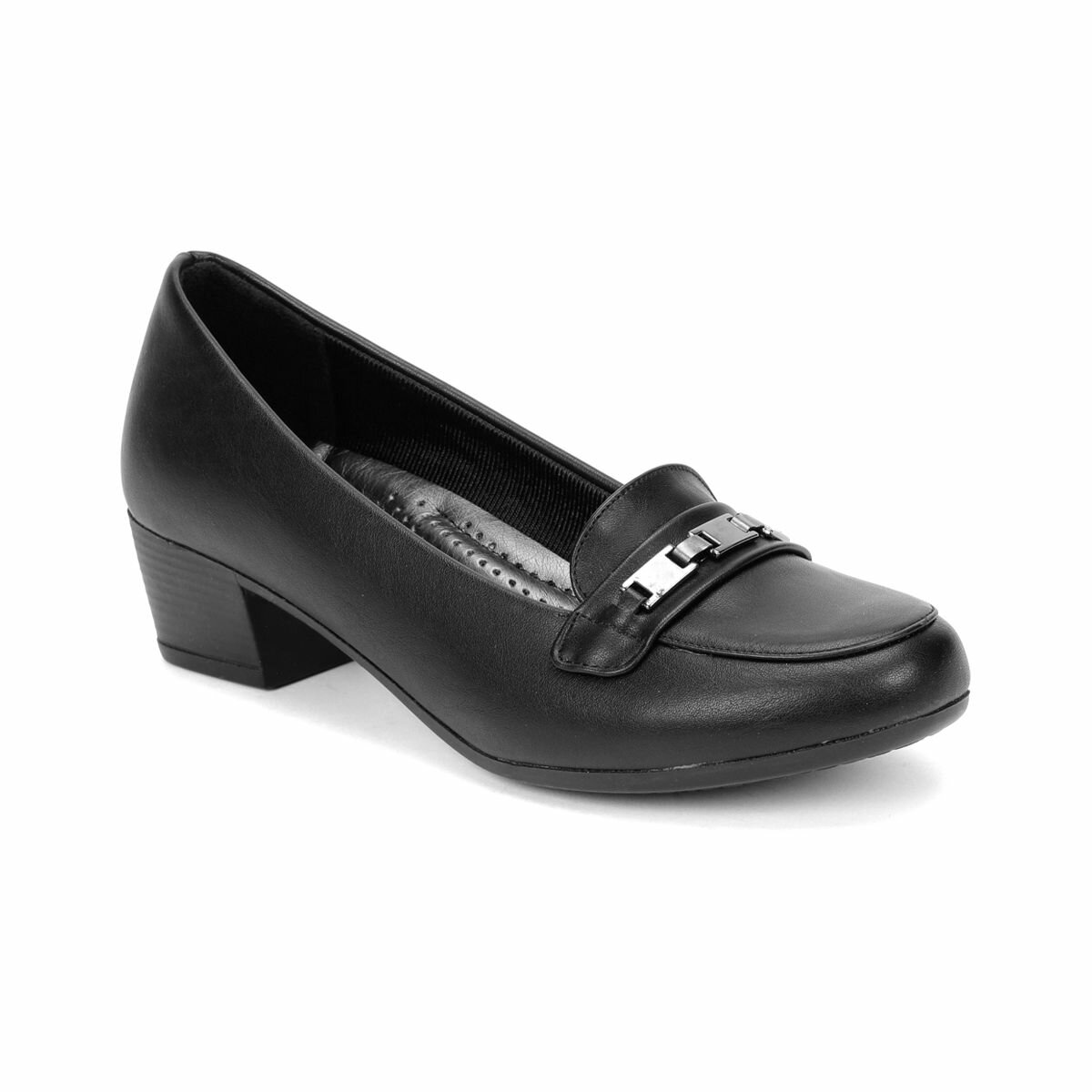 FLO 81. 156599.Z Black Women Ökçeli Shoes Polaris