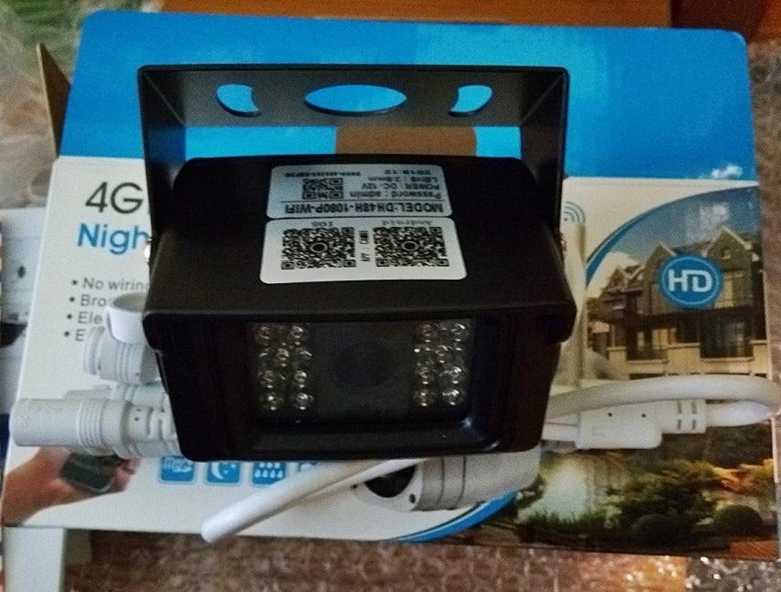 4G კამერა IP 1080P 5MP HD 3G SIM ბარათის კამერა მეტალის ყუთით გარე WIFI კამერა უსადენო MINI CCTV P2P მანქანით APP CamHi