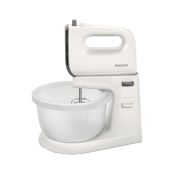 Mixeur-pétrin avec bol Philips HR3745/00 3 L blanc