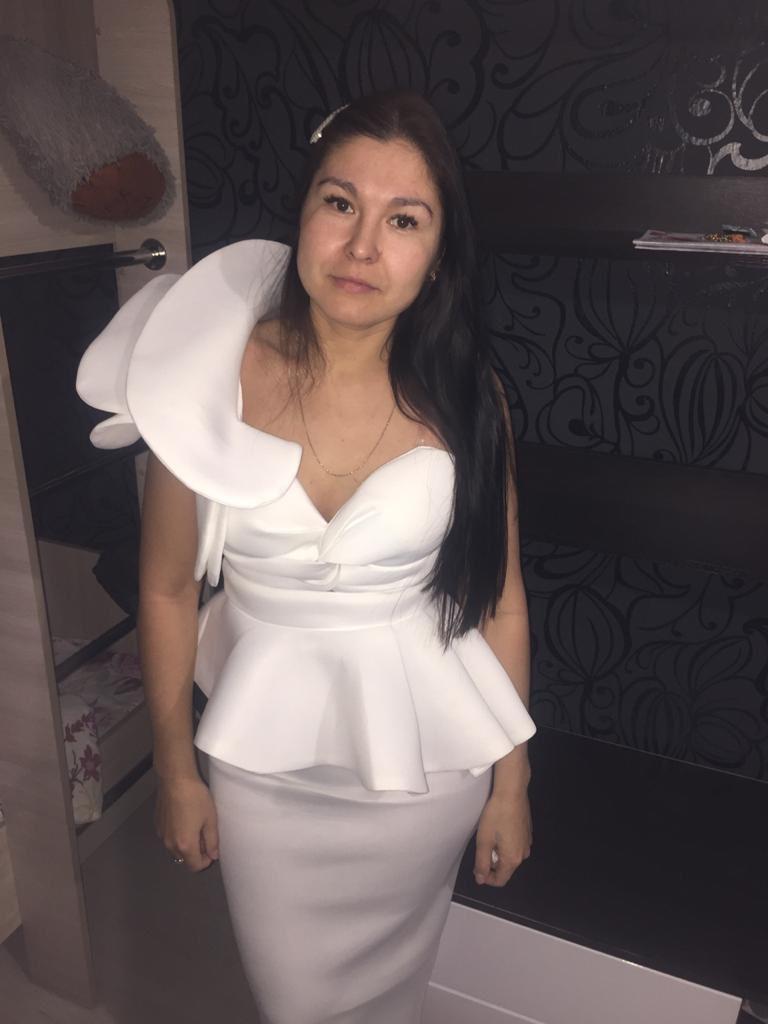 Missord 2020 Women Sexy Bodycon Off Shoulder Bandage Dresses Female Ruffles Backless Elegant Club Summer Dress Vestido TB0020 reviews №5 611683