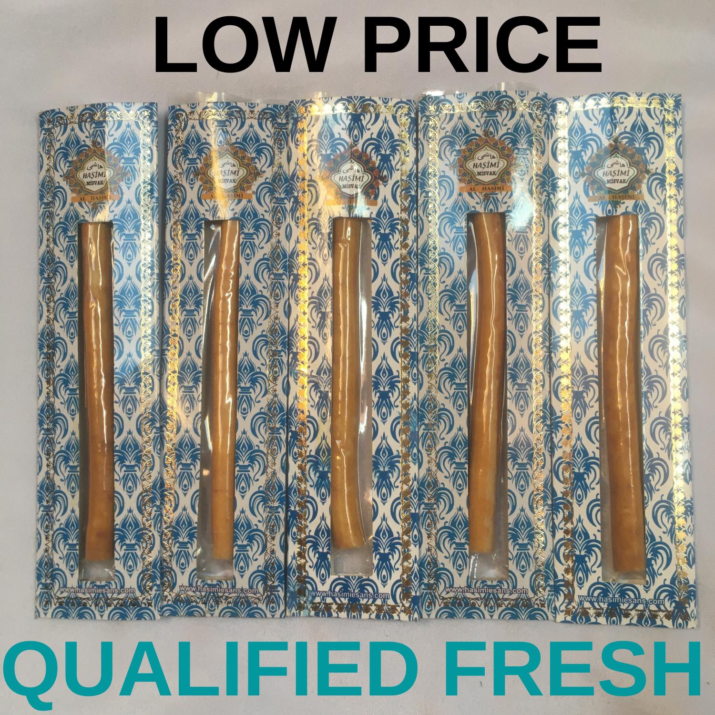 Qualified Fresh Vacummed Miswak Natural Toothbrush Teeth Whitening Fresher Breath Sewak Miswak Misvak Packed Dental Care Muslim