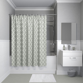 Bathroom curtain iddis 200*180 cm base polyester b10p218i11 privacy, shower, swim, hide