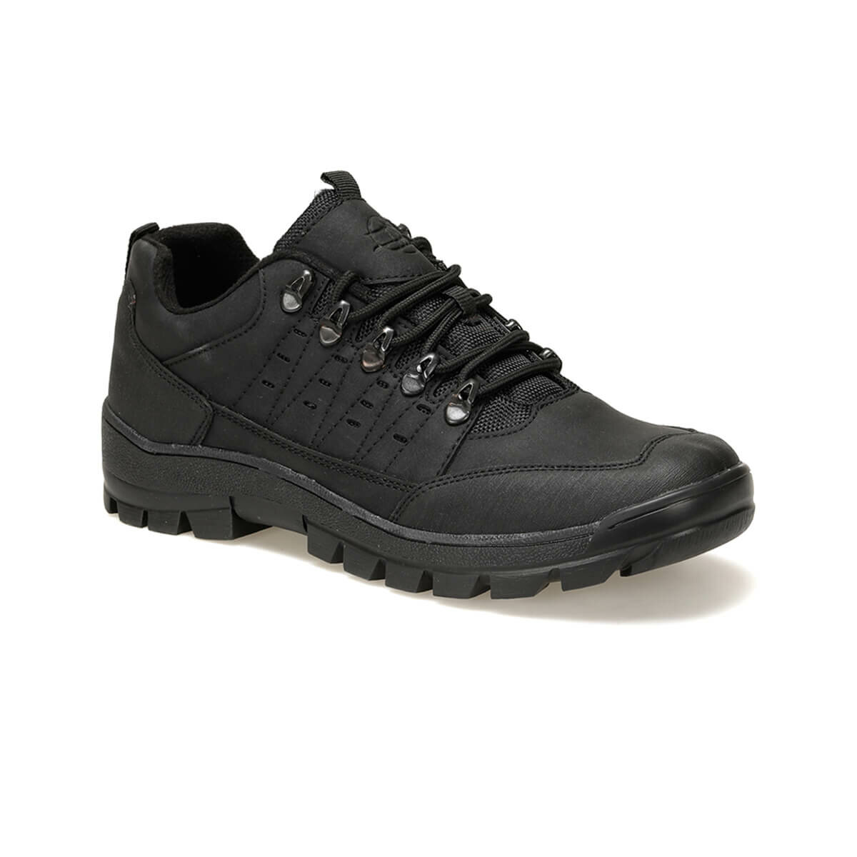 FLO 211294 Black Male Shoes Panama Club