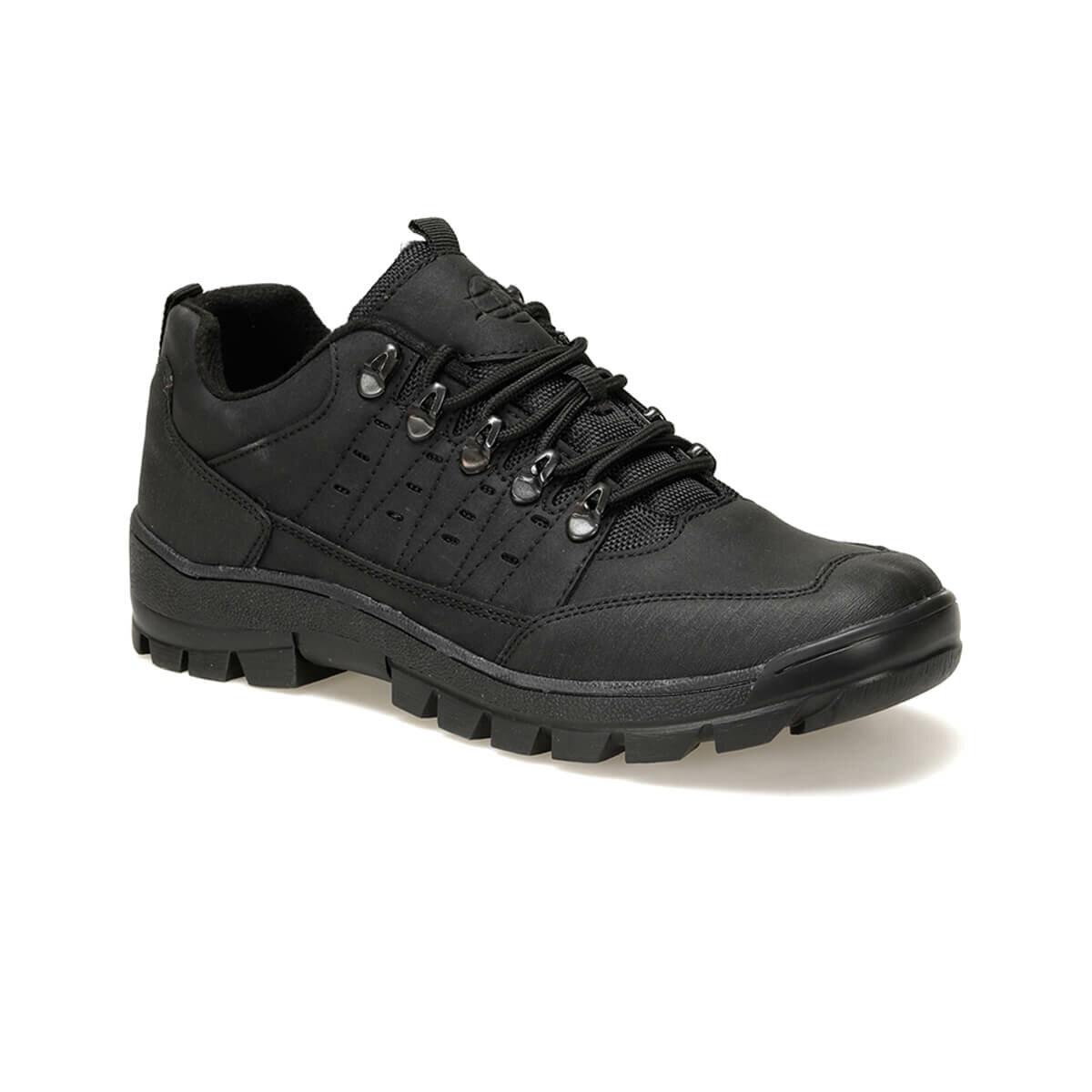 FLO 211294 Black Male Shoes Panama Club