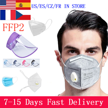 FFP3 Dust Mask KN95 Valve Mask 5 Layer Flu Anti Infection N95 Protective Face Masks ffp2 Respirator PM2.5 Safety Same As KF94