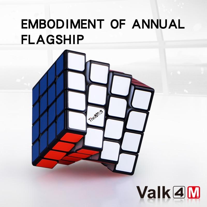 Qiyi 4x4x4 Cube Valk4 M Magnetic 4x4x4 Magic Cube Qiyi 4x4x4 Magnetic Speed Cube Valk4m 4x4 Puzzle Cube Qiyi 4x4x4 Cubo Magic
