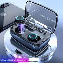 MOLO True Wireless Earbuds TWS Bluetooth Earphones HD CALL Stereo Headset Noise