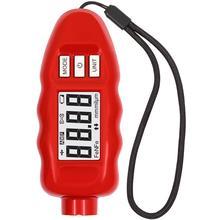 Толщиномер покрытий CARSYS DPM-816 PRO Быстрые измерения по черным и цветным металлам(0-3 мм) пр-во Россия(красный
