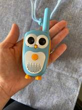 Great quality. The walkie-talkie is very cute and works very well. Arrived in 15 days in B