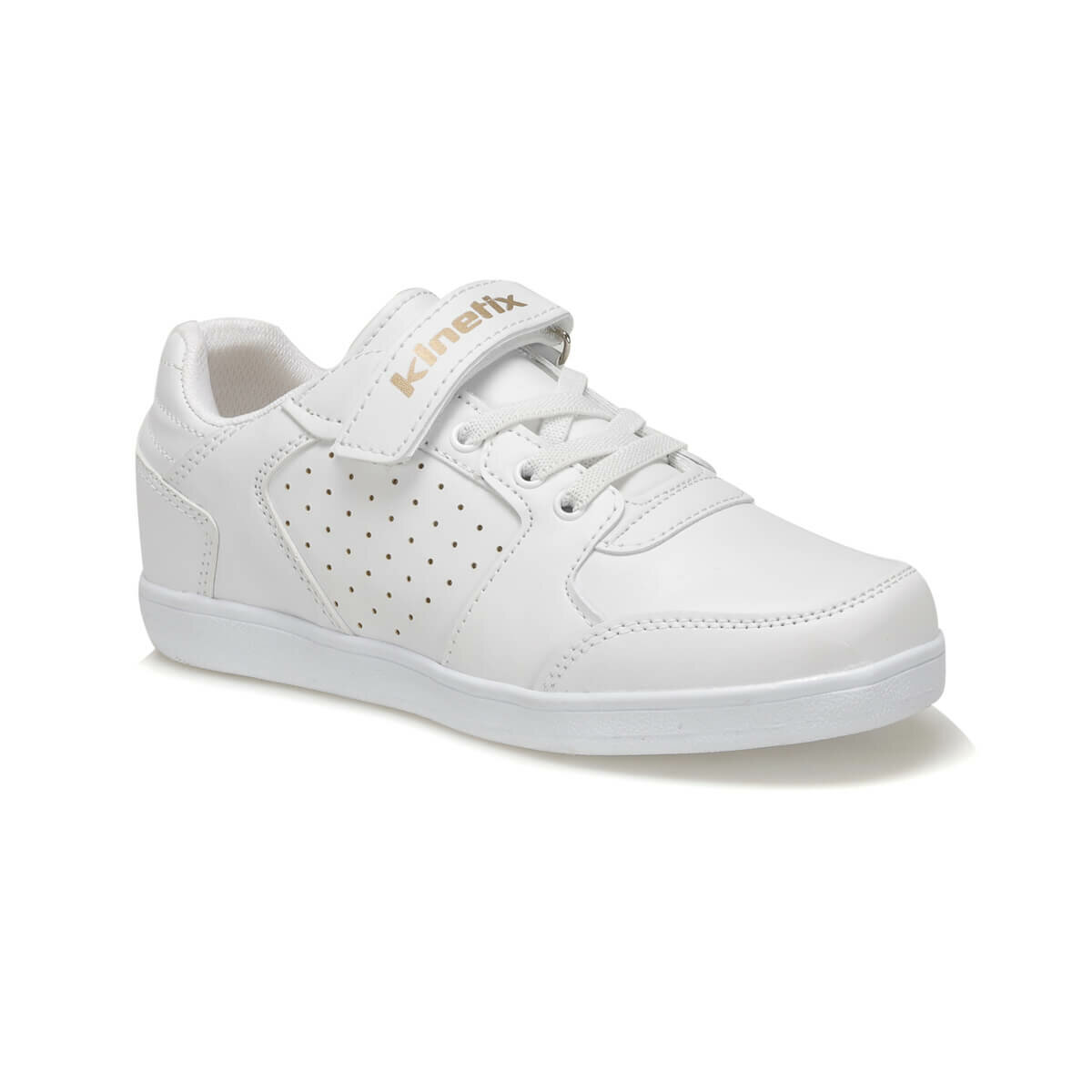 FLO PODER White Male Child Sneaker Shoes KINETIX