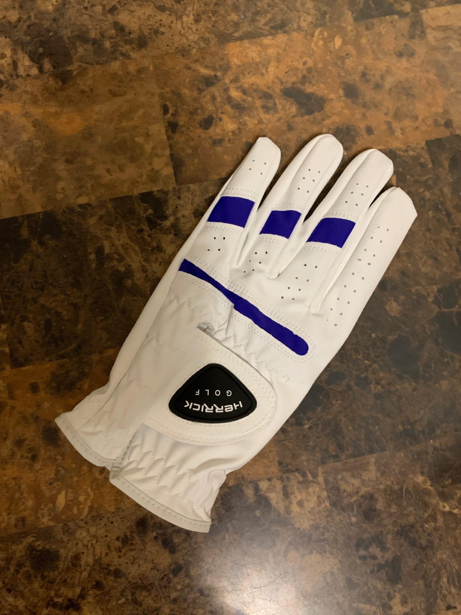 Men's White Golf Glove photo review