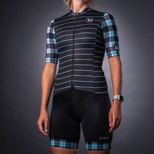 Wattie Ink summer women cycling jersey short-sleeve suit sexy tight quick-dry breathable clothing ropa ciclismo maillot