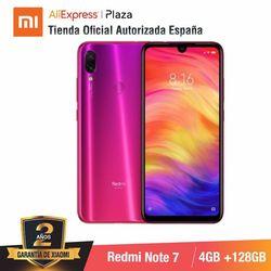 [Global Version for Spain] Xiaomi Redmi Note 7 (Memoria interna de 128GB, RAM de 4GB,Camara dual trasera de 48 MP)