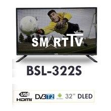 BSL Television 32 Pulgadas | Smart TV | Sistema Operativo Android 7.0 | Sintonizador DVBT2 | Conectividad Wifi y RJ45 | HD Ready