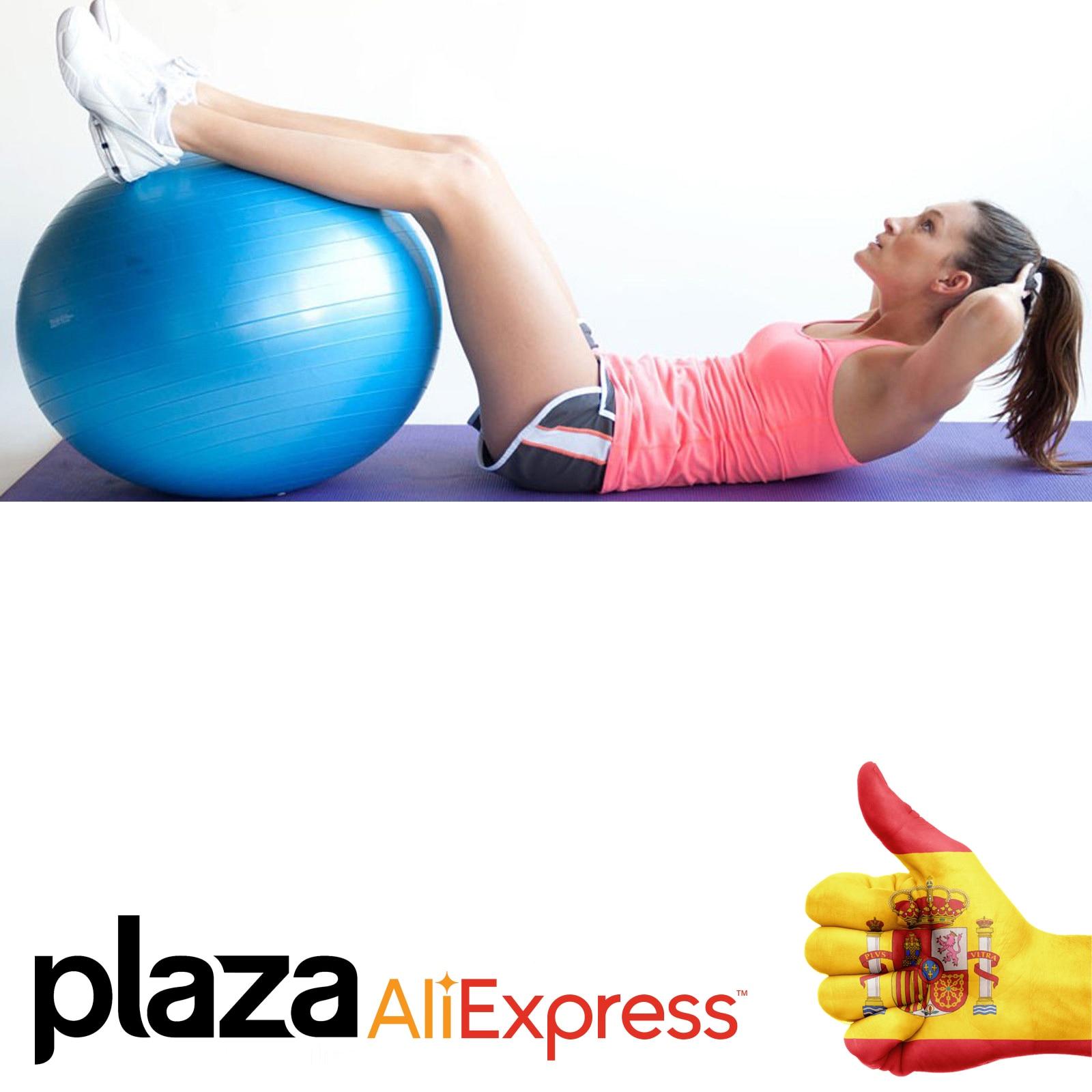 Pelota de ejercicio deportes pelota de Yoga Bola de Fitness gimnasio pelota de équilibres inflable ejercicio de entrenamiento pe