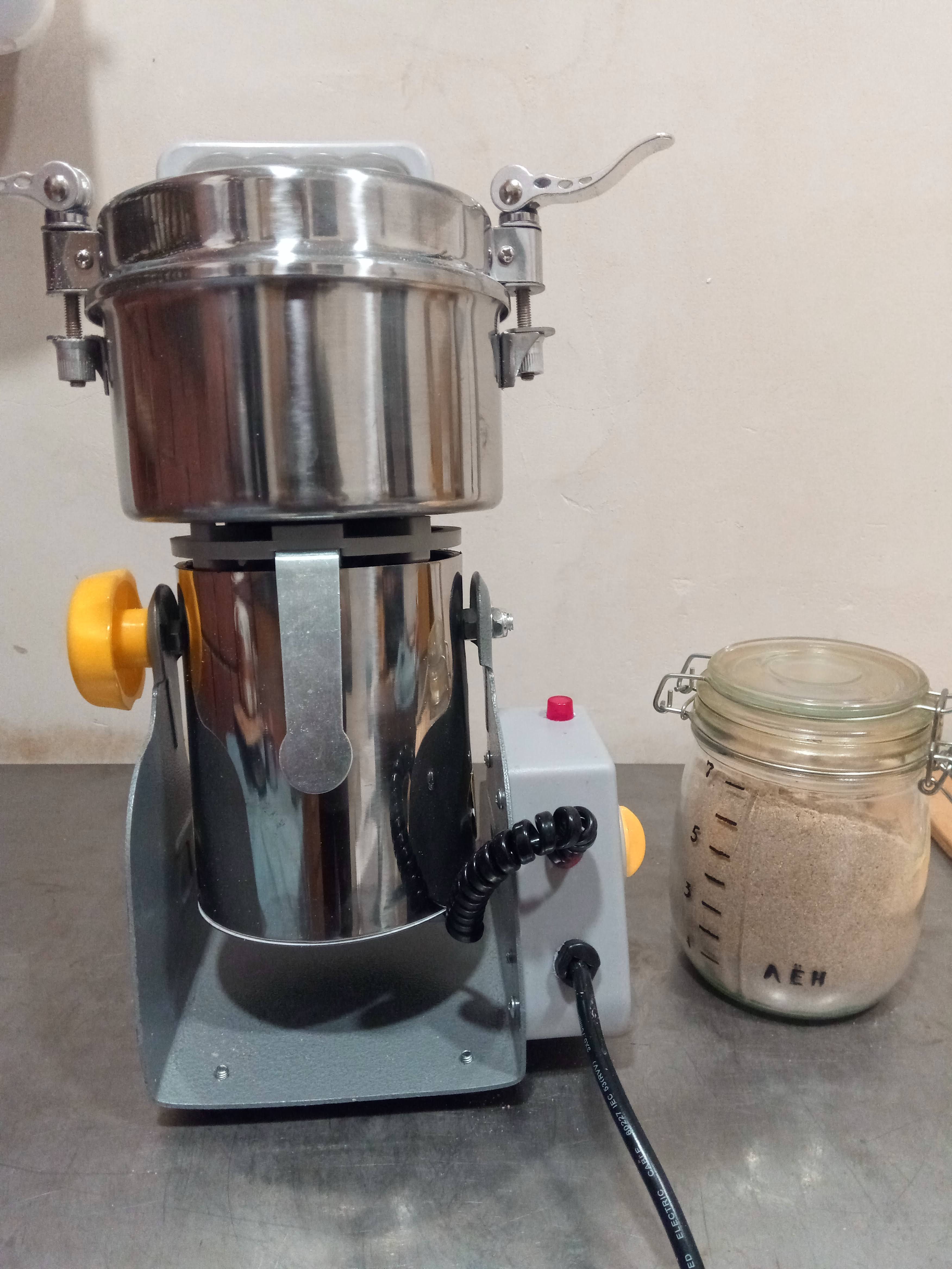 800g Grains Spices Hebals Cereals Coffee Dry Food Grinder Miller Grinding Machine gristmill home medicine flour powder crusher|grinding coffee machine|coffee grinding machinecoffee grind - AliExpress