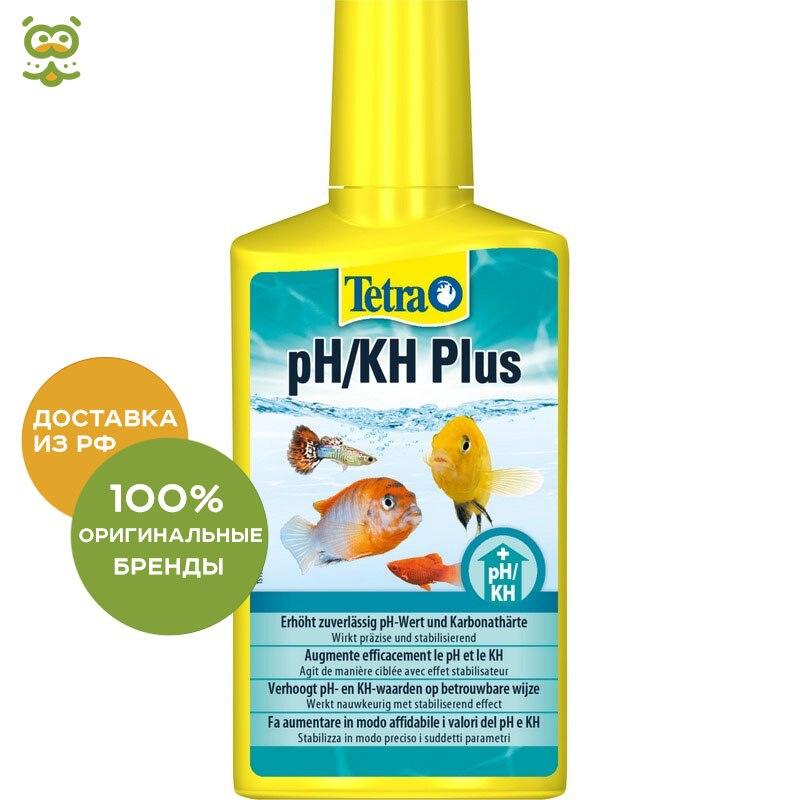 цена на Tetra pH/KH Plus tool to enhance the level of pH and kN, 250 ml.