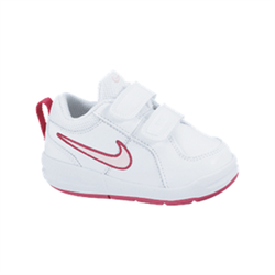 NIKE Schoenen Baby PIEK 4 (TDV), tennis, Wit/Prisma Roze Spark