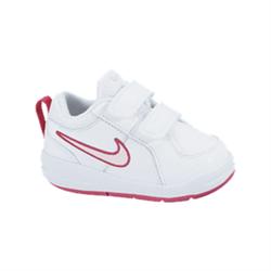 NIKE Schuhe Baby SPITZEN 4 (TDV), tennis, Weiß/Prisma Rosa Funken