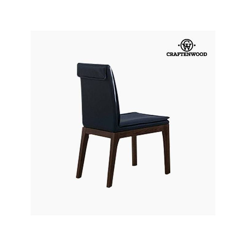 Leather Chair Gray-Collection Serious Line By Craftenwood