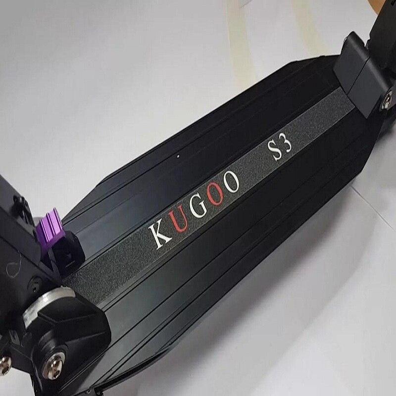 Skuter elektryczny Kugoo S 3 czarny, składane elektrosamokat Куго S3