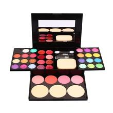 3 Layers Makeup Combo Facial Tool Make Up Set Mit Deals Eyeshadow Eyebrow Lipstick Brush Powder